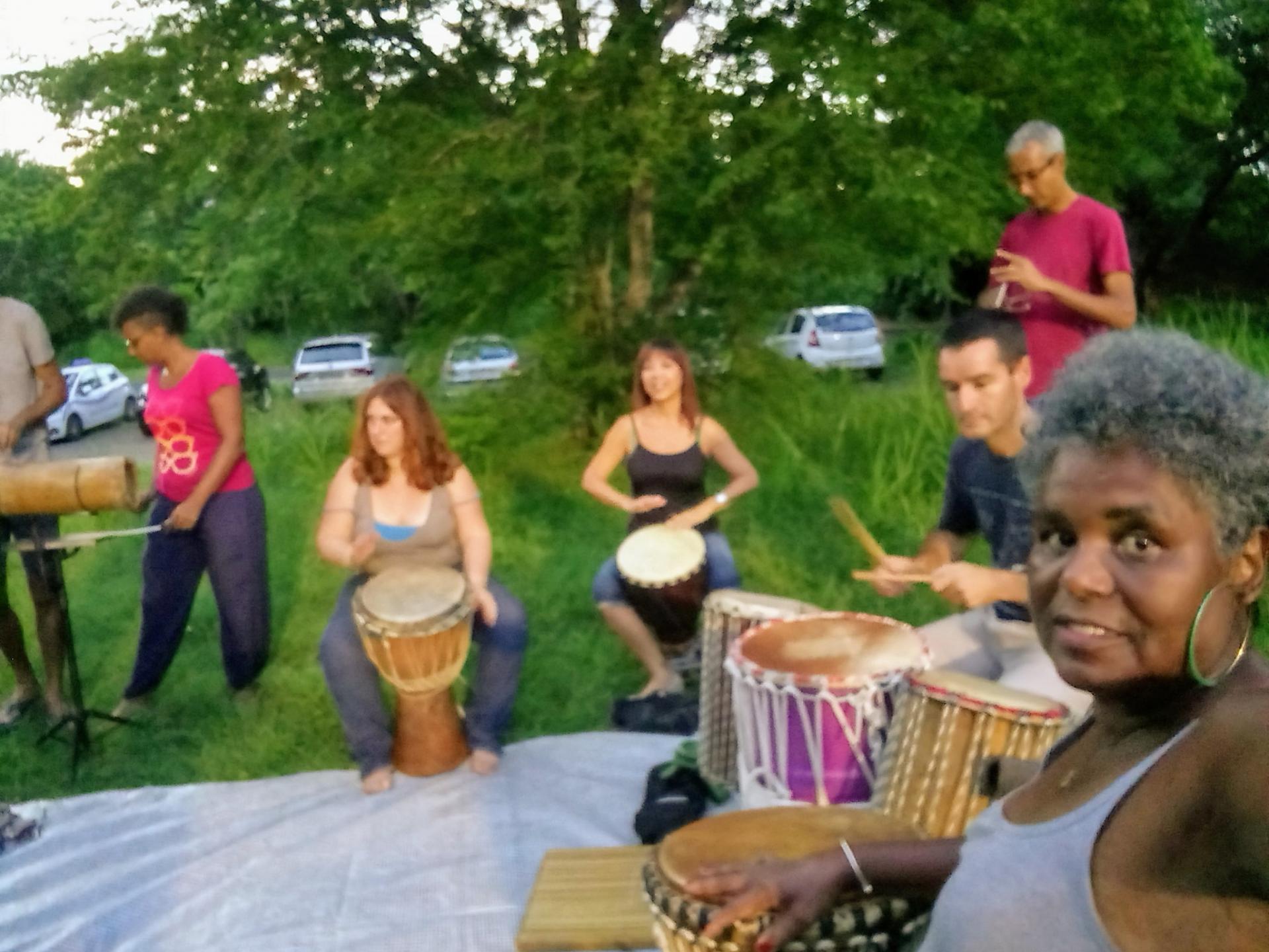Cours de percussion africaine
